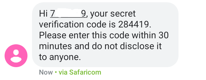 ntsa verification code