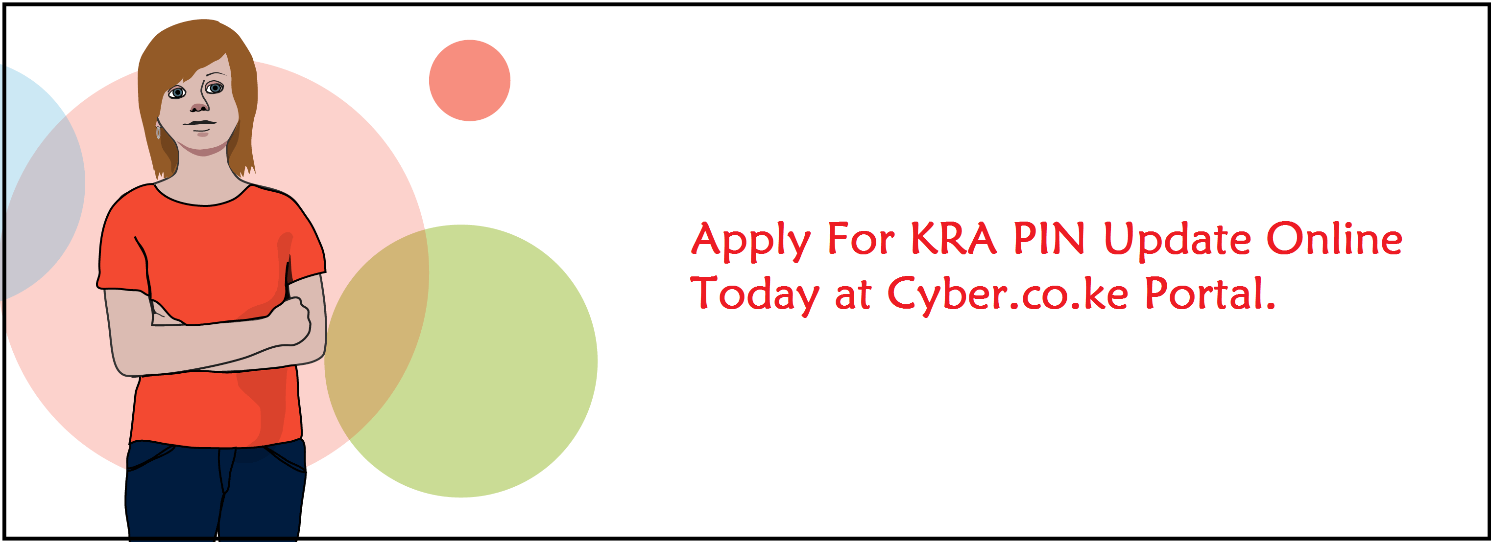 kra pin update services at cyber.co.ke portal