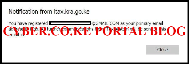 confirm new kra pin email address