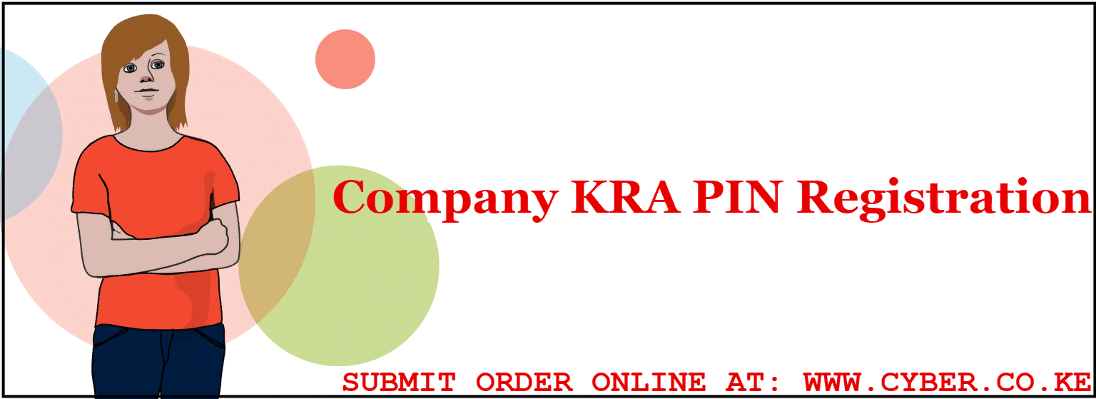 company kra pin registration