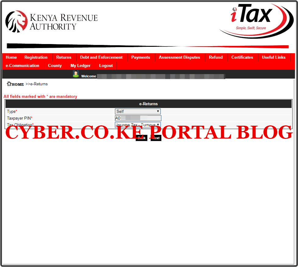 select tax obligation as turnover tax