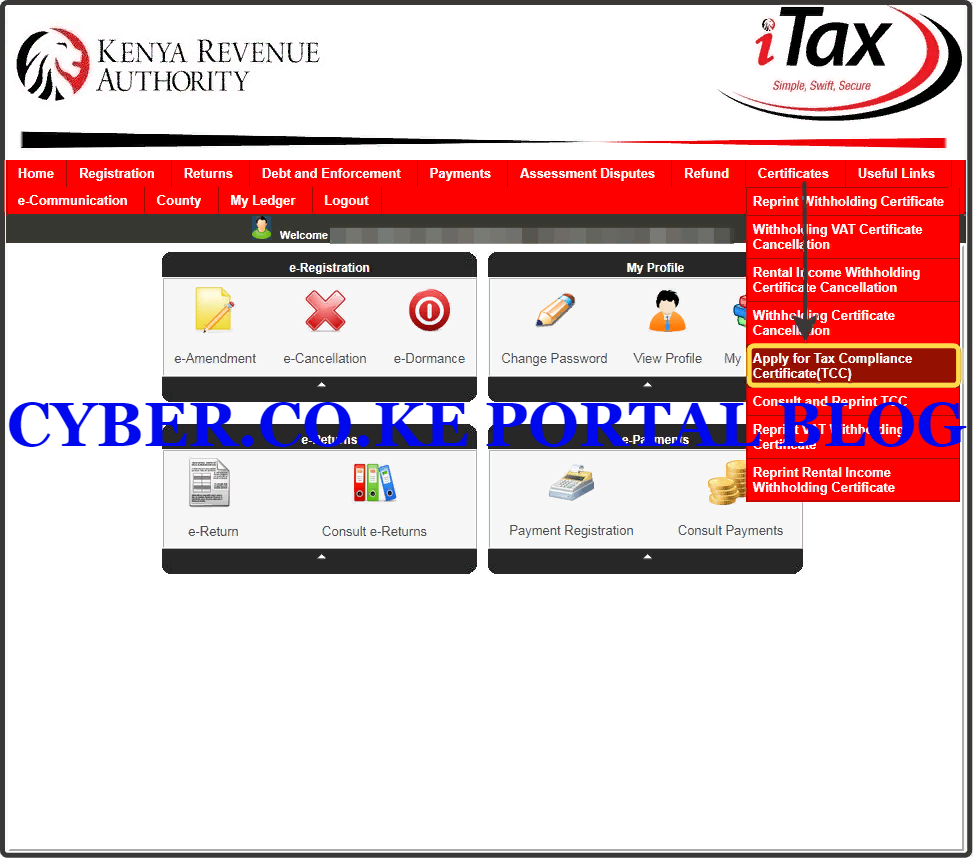 apply for kra clearance certificate